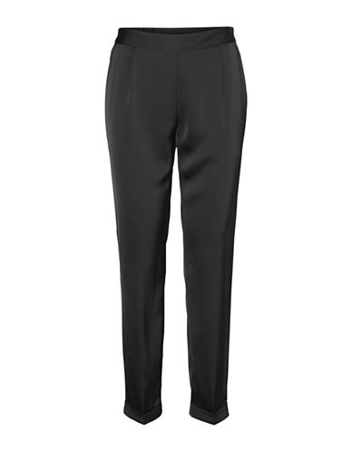 Vero Moda Bardot Ankle Pants-BLACK-Medium 89606681_BLACK_Medium