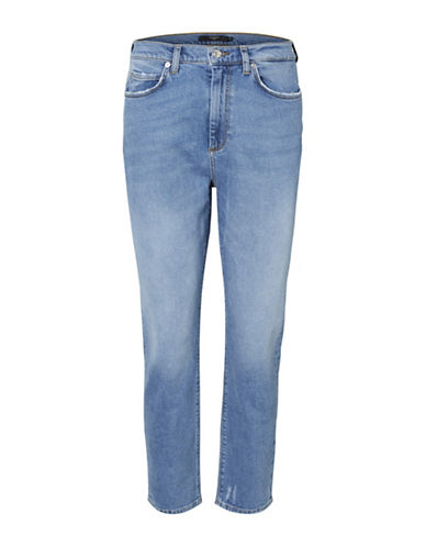 Vero Moda Washed Straight Jeans-BLUE-29