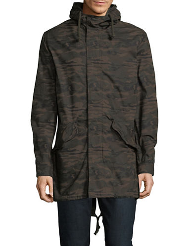 Jack & Jones Light Cotton Parka-GREEN-Medium