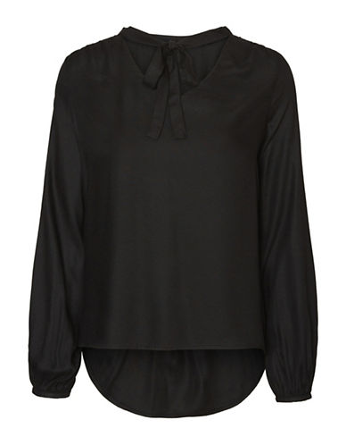 Vero Moda Amarone Top-BLACK-Large