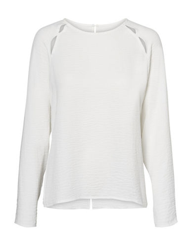 Vero Moda Long-Sleeve Cut-Out Top-WHITE-Small 89606720_WHITE_Small