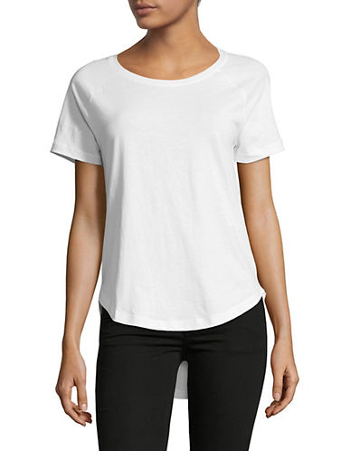 Noisy May Basic Cotton Tee-WHITE-X-Small