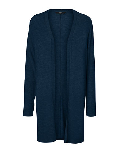 Vero Moda Honey Long Cardigan-NAVY-X-Large
