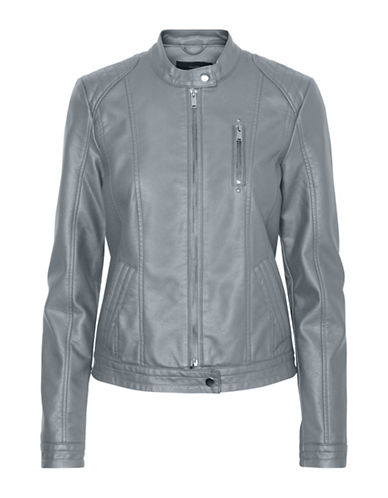 Vero Moda California Favo Short Jacket-GREY-X-Small