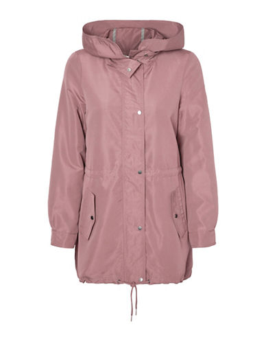 Vero Moda Queens Champ Parka Jacket-PINK-Medium