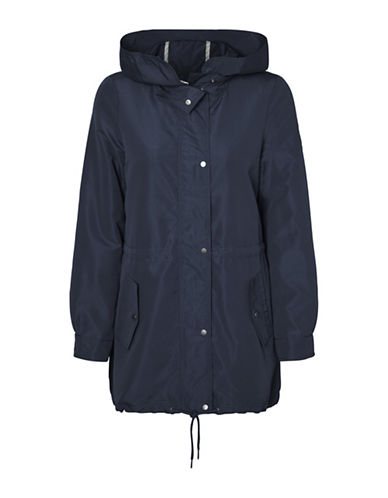 Vero Moda Queens Champ Parka Jacket-BLUE-X-Small