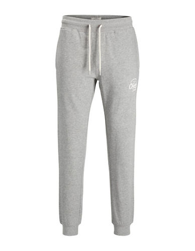 Jack & Jones Drawstring Sweatpants-GREY-X-Large 89570367_GREY_X-Large
