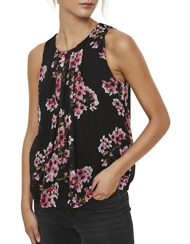 Vero Moda Occasion Resta Top-BLACK-Medium