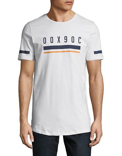 Jack And Jones Core Graphic Print T-Shirt-WHITE-Medium 90054107_WHITE_Medium