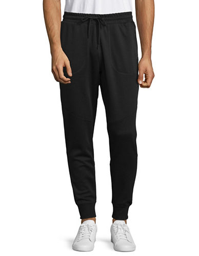 Jack And Jones Core Drawstring Sweatpants-BLACK-Large 89893935_BLACK_Large