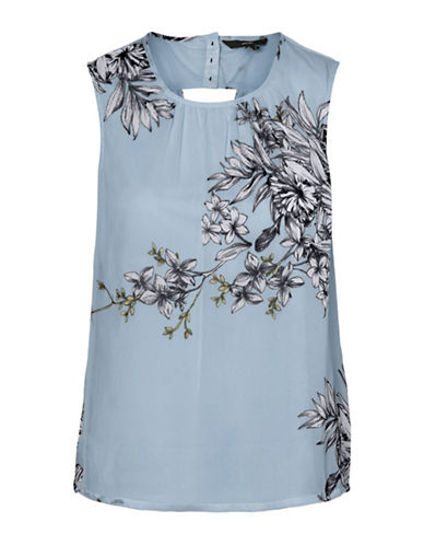 Vero Moda Satina Sleeveless Top-BLUE-Medium 90017411_BLUE_Medium