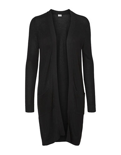 Noisy May Skylar Oversized Cardigan-BLACK-Small