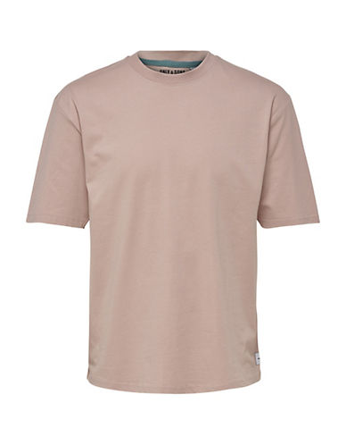 Only And Sons Oversized Cotton T-Shirt-PINK-X-Large 90066747_PINK_X-Large