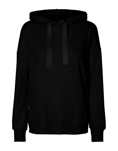Noisy May Bow-Tie Long-Sleeve Hoodie-BLACK-X-Small 89950020_BLACK_X-Small