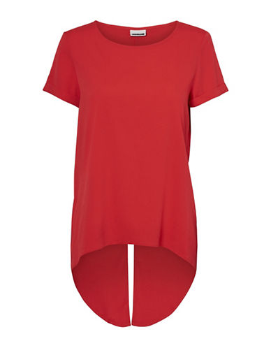 Noisy May Cosmo Short-Sleeve Fred Tee-SCARLET-Small