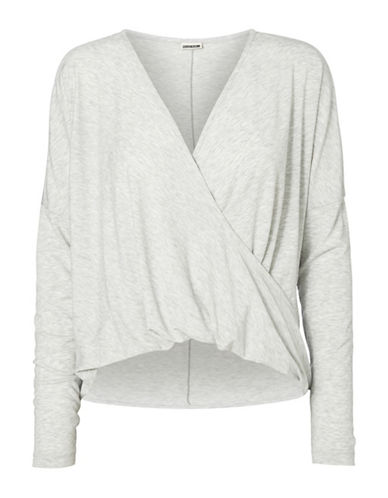 Noisy May Karna Long-Sleeve Top-WHITE-Medium