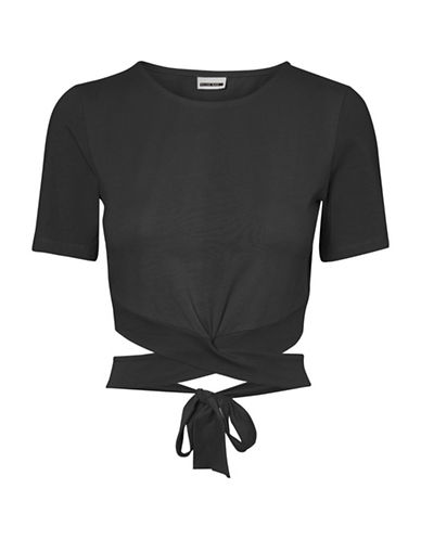Noisy May Laila Cropped Top-BLACK-Medium 90046113_BLACK_Medium