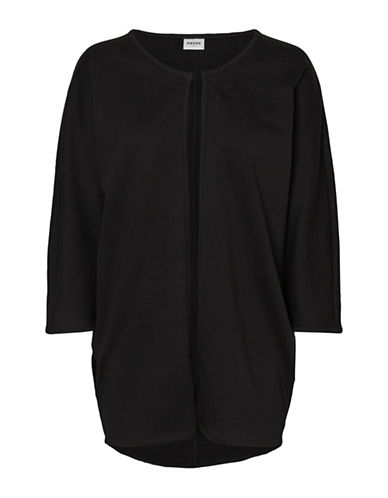 Vero Moda Cida Cotton Cardigan-BLACK-Small/Medium 89739268_BLACK_Small/Medium