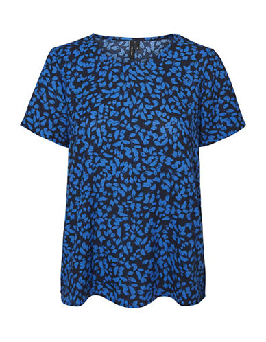 Vero Moda Henna Fifi Top-BLUE-X-Large