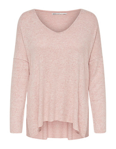Only Long-Sleeve Pullover Top-PINK-Medium 89996006_PINK_Medium