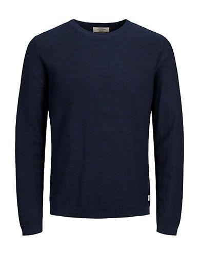 Jack & Jones Classic Crewneck Cotton Sweater 90436638