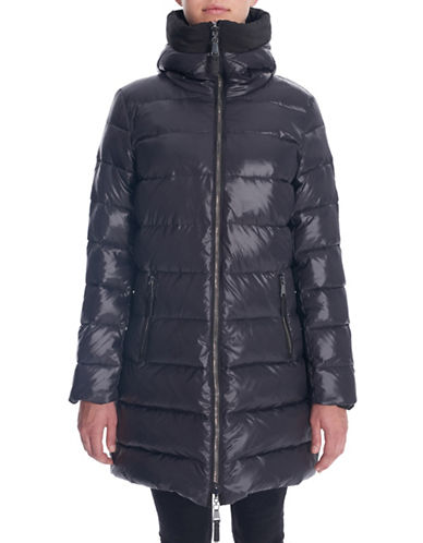 Novelti Reversible Quilted Down Coat-BLACK-X-Small 88412813_BLACK_X-Small