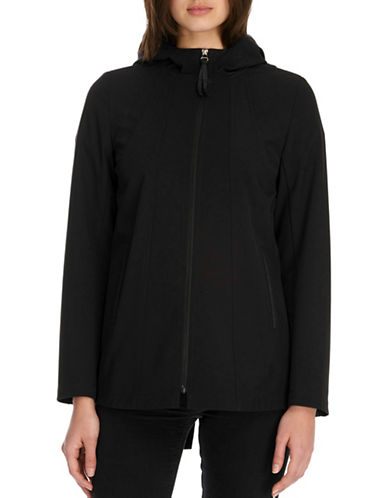 Novelti Soft Shell Hooded Jacket-BLACK-Medium