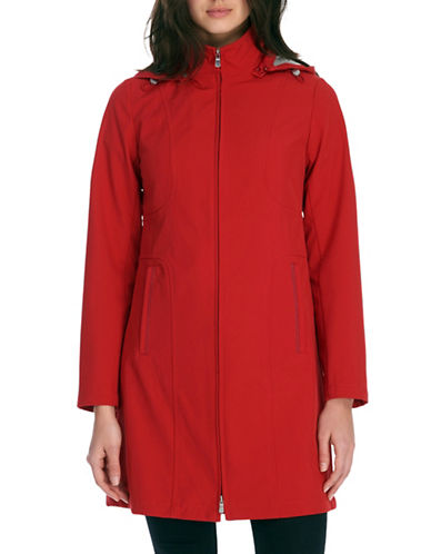 Novelti Soft Shell Longer Hooded Jacket-RED-X-Small 88832854_RED_X-Small