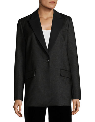 Nvlt Twill Suit Jacket-BLACK-X-Small