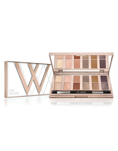 Lise Watier Simply Nudes 12-Colour Eyeshadow Palette-MULTI-COLOURED-11 ml
