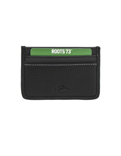 Roots 73 Card Case-BLACK-One Size