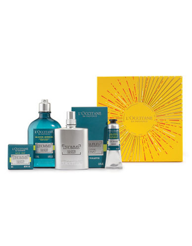 L Occitane L Homme Cedrat Collection Star Gift Four-Piece Holiday Kit-NO COLOUR-One Size