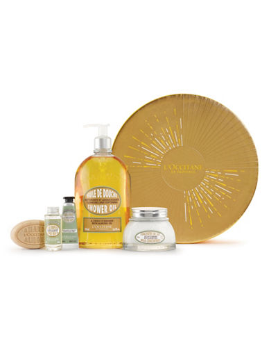 L Occitane Almond Collection Five-Piece Holiday Kit-NO COLOUR-One Size