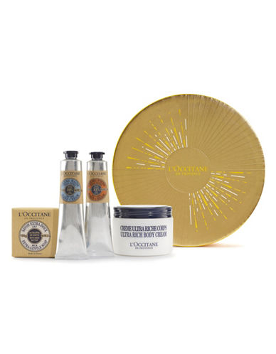 L Occitane Shea Butter Collection Five-Piece Holiday Kit-NO COLOUR-One Size