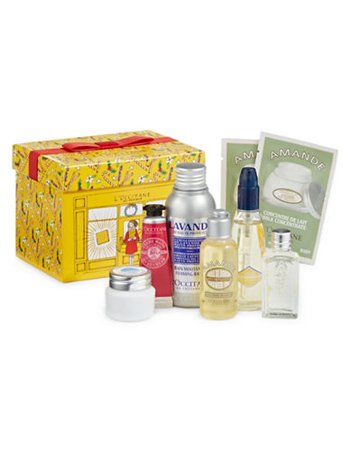 L Occitane Holiday Essential Eight-Piece Set Purchase with Purchase-NO COLOUR-One Size