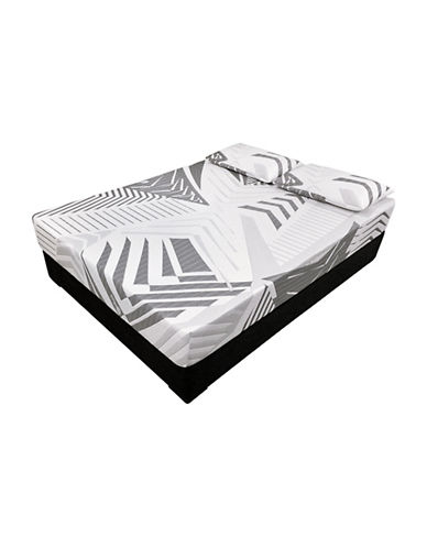 Zedbed Zyber Pure Memory Foam Mattress in a Box-WHITE-King