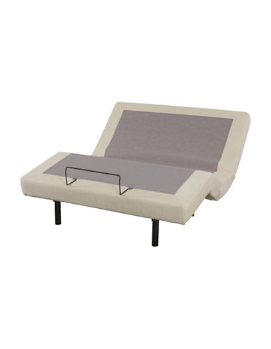 Zedbed Queen N-Move Box Spring-CREAM-Queen