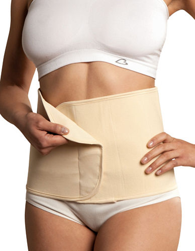 Carriwell Organic Cotton Belly Binder-NATURAL BEIGE-Small/Medium