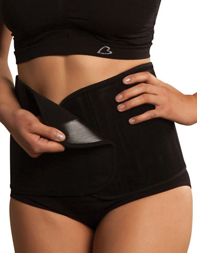 Carriwell Organic Cotton Belly Binder-BLACK-Small/Medium