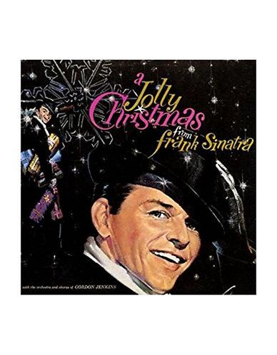 Vinyl Frank Sinatra - A Jolly Christmas LP Record-BLACK-One Size