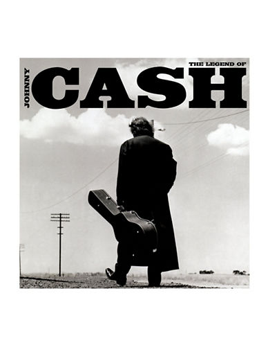 Vinyl Johnny Cash - The Legend of Johnny Cash-BLACK-One Size