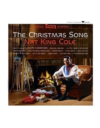 Vinyl Nat King Cole  - The Christmas Song - Vinyl Record-BLACK-One Size