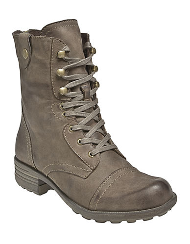 Rockport Cobb Hill Bethany Lace-Up Boots-STONE-11