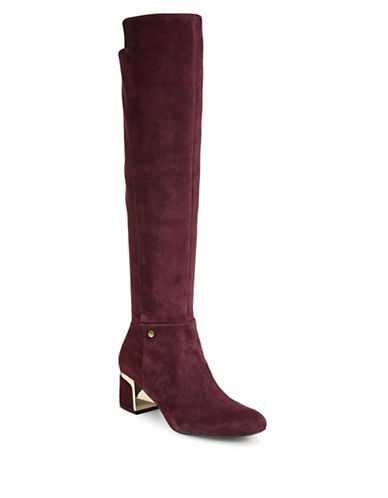 Dkny Cora Over-the-Knee Boots-WINE-7