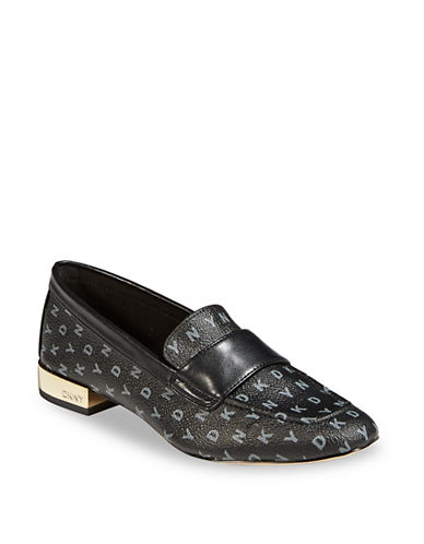Dkny Camara Slip-On Loafers-BLACK-9.5
