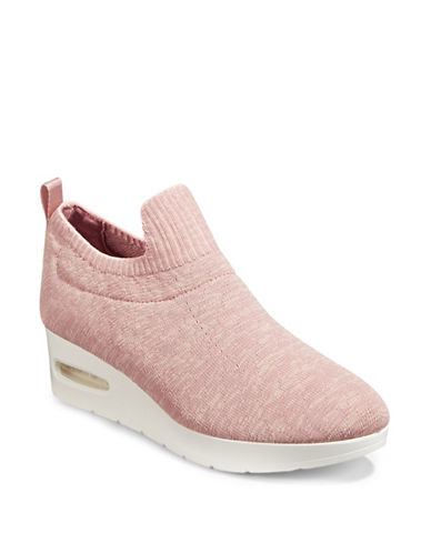 Dkny Angie Wedge Sneakers-PINK-9.5