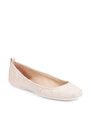 Dkny Tess Quilted Ballet Flats-PINK-6