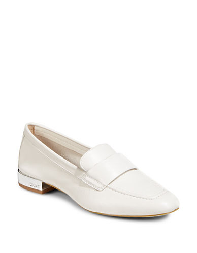 Dkny Camara Slip-On Loafers-WHITE-9