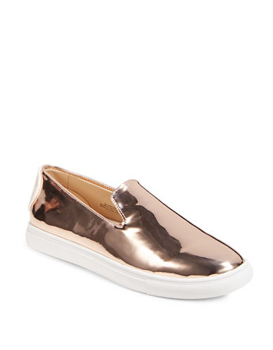 Dkny Jillian Slip-On Sneakers-ROSEGOLD-9.5