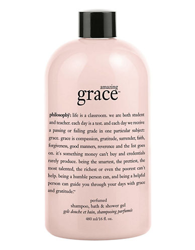 Philosophy amazing grace perfumed shampoo bath and shower gel-NO COLOUR-480 ml